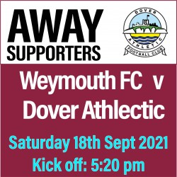 Dover Athletic AWAY